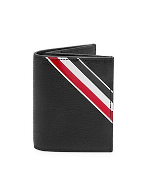thom browne leather card holder - Thom Browne Card Holder
