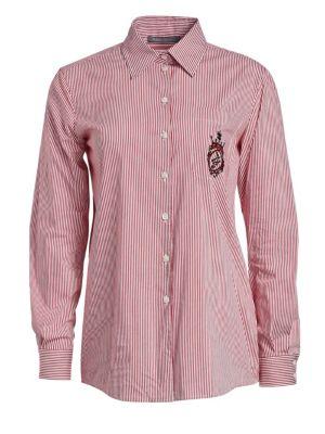 78388eea Piazza Sempione - Button Down Shirt - saks.com