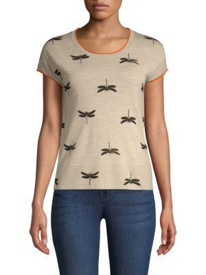 ESCADA SPORT Dragonfly Stretch Wool Shell in Grey