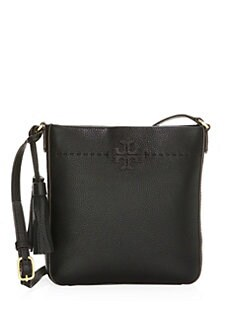 bd2d310c5 QUICK VIEW. Tory Burch. McGraw Leather Crossbody Bag