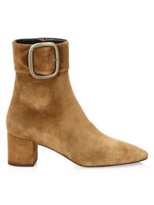 Joplin Suede Booties by Saint Laurent