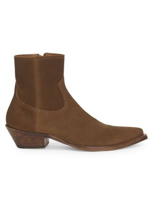 Lukas West Wyatt Suede Ankle Boots, Brown