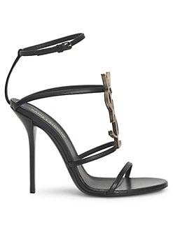 2a4df6a3e6f Product image. QUICK VIEW. Saint Laurent. Cassandra Ankle-Strap Sandals