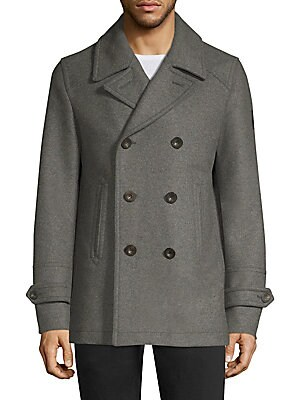 exquisite style full range of specifications hot-selling newest Belstaff - Durdan Wool Peacoat - saks.com