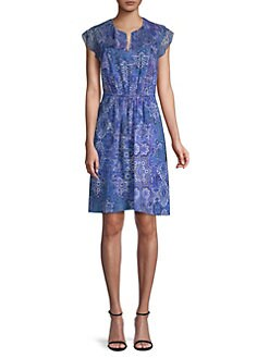 959dc11640 Elie Tahari. Imogen Printed Dress