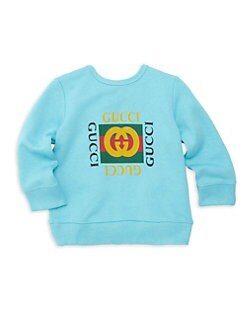 9fe9f8e75d3c Gucci - Baby Boy s Logo Sweatshirt