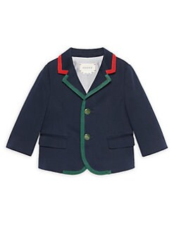 dd8b2851b Gucci. Baby Boy's Cotton-Blend Jacket