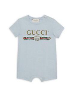 e1c3fc58148 QUICK VIEW. Gucci. Baby Boy s Cotton Sleepsuit
