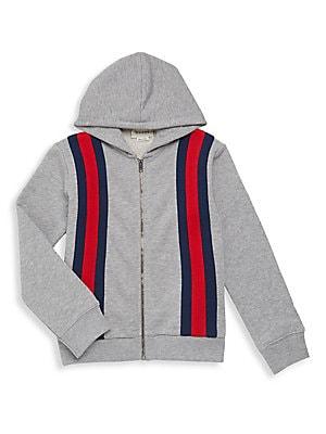 09b21cc0593 Gucci - Baby Boy  8217 s Logo Stripe Zip Hoodie