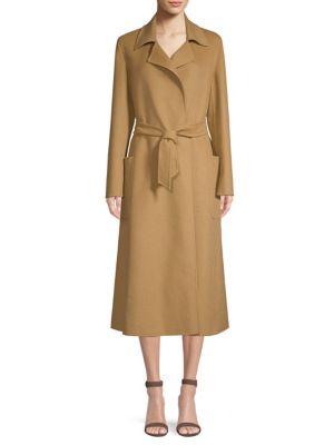 Viadana Wrap Camel Coat by Max Mara