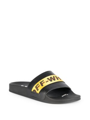 Black And Yellow Industrial Belt Slides