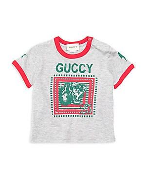 6fe1daec57e Gucci - Little Boy s   Boy s Rainbow Polo - saks.com