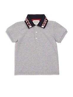 1abce388 Gucci. Baby Boy's Logo Polo Shirt