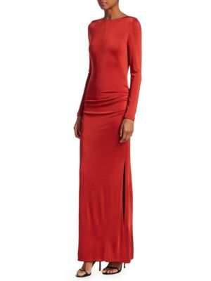 Corona Long Sheath Dress by Galvan