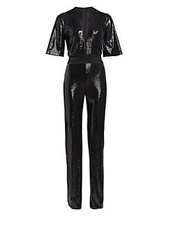 4f67b179057b Galvan. Galaxy Sequin Jumpsuit