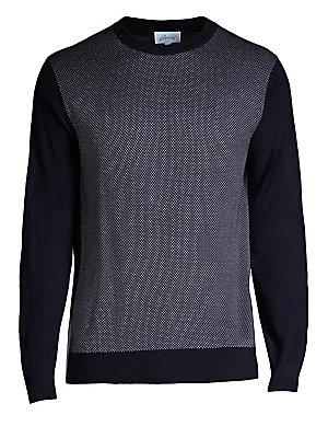 161e34e7f Burberry. Carter Merino Sweater.  390.00 · Brioni - Textured Crewneck  Sweater