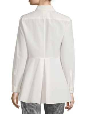 MAX MARA Cottons Button-Front Tunic