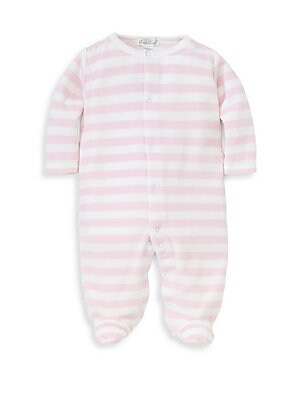 450739fcf3 Kissy Kissy - Baby Girl s Jungle Out There Striped Footie