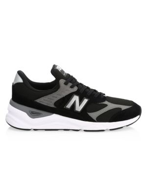 NEW BALANCE Men'S X-90 V2 Casual Shoes, Black