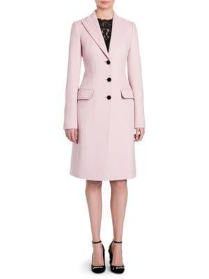 Long Rose Coat, Blush Pink