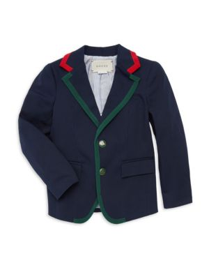 Little Boy's & Boy's Blazer Jacket by Gucci
