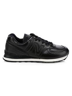 c866bab8bf34 New Balance. 574 Leather Brogue Sneakers