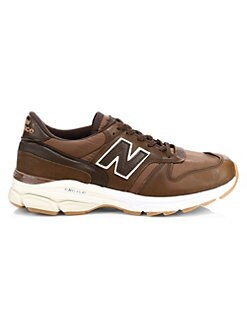 New Balance. Made In The UK 770.9 Leather Sneakers 44c019ec4