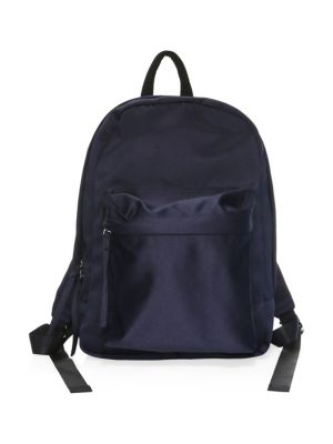 Satin Backpack, Navy
