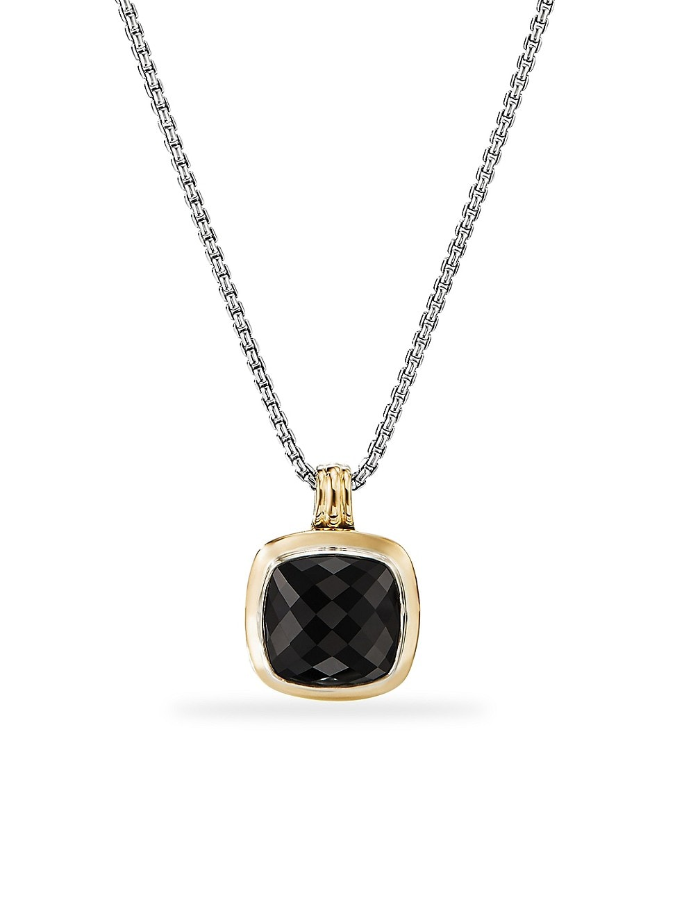 David Yurman WOMEN'S ALBION 18K YELLOW GOLD & BLACK ONYX PENDANT