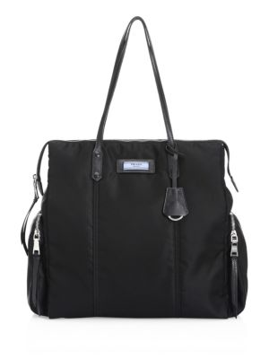 Tessuto Etiquette Shoulder Bag, Black