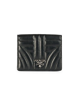 ab4f9ae45 Prada - Diagramme Leather French Wallet - saks.com