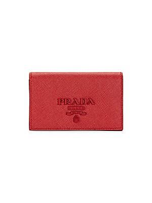 0984e40fd4f4 Prada - Monochrome Leather Card Case