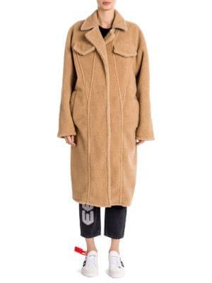 Long Sleeve Oversized Single Breasted Coat , Camel