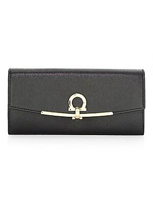 03194b06b505 Salvatore Ferragamo - Leather Continental Wallet