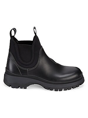 0193896f949f Prada - Lug Sole Chelsea Boots - saks.com