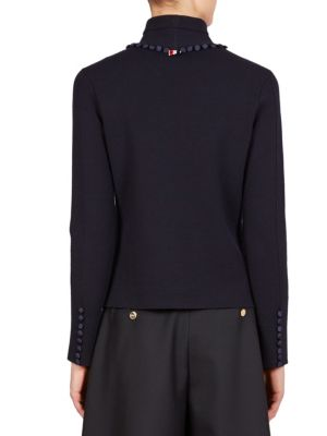 THOM BROWNE Sweaters Bridal Button Turtleneck Sweater