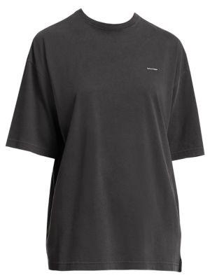 Balenciaga Oversized Logo T Shirt
