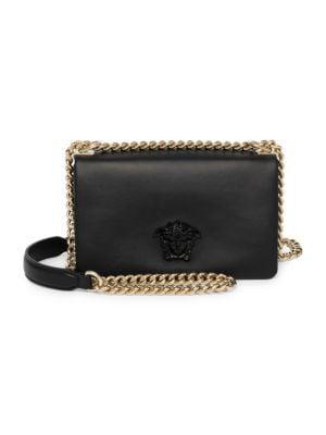 Palazzo Chain Crossbody Bag by Versace