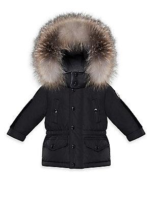 9fc9f172a Moncler - Baby s K2 Fur-Trim Puffer Jacket - saks.com