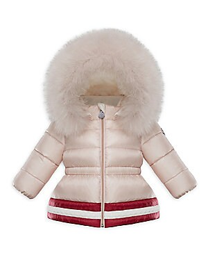 401eb040c22 Moncler - Baby Girl s   Little Girl s Fox Fur-Trimmed Puffer Jacket -  saks.com