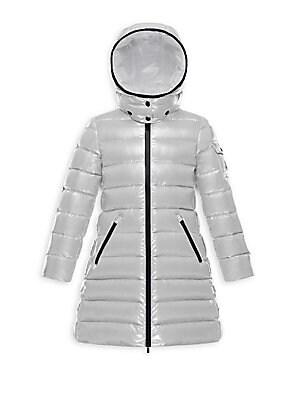 a5091459fc0a Moncler - Little Girl s Hooded Puffer Jacket - saks.com