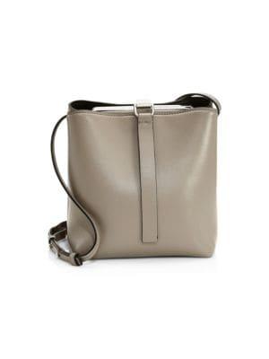 Frame Leather Shoulder Bag, Size Os, Women in Brown
