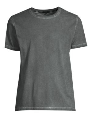 PATRICK ASSARAF Patrick Assaraf Sublime Wash Tee in Graystone