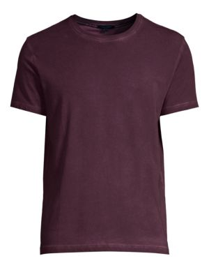PATRICK ASSARAF Patrick Assaraf Sublime Wash Tee in Mulberry