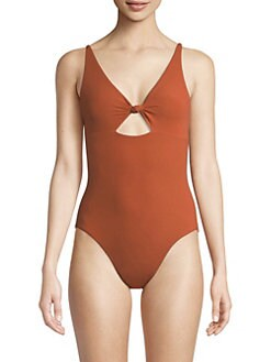 dc7e768e098bf Product image. QUICK VIEW. Tory Burch. Palma One-Piece Cut-Out Swimsuit