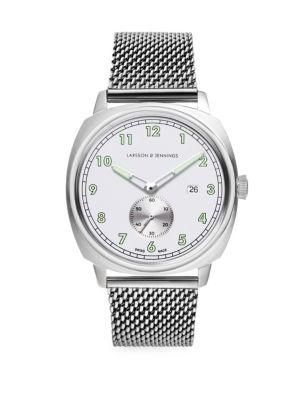 Meridian Brushed Silver Bracelet Watch