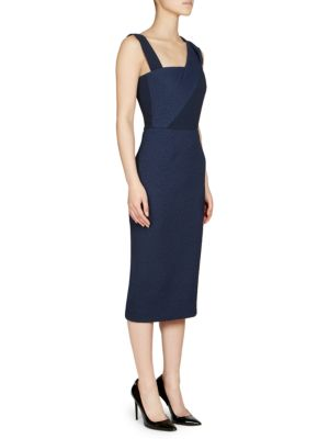 Elsom Sash Strap Sheath Dress by Roland Mouret