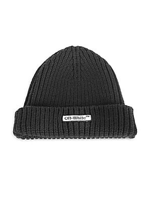 c33bf3ad0 Off-White - Logo Patch Wool Beanie