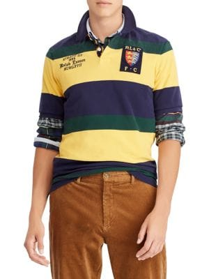 Fit Classic Polo Rugby Ralph Cotton In Mesh Lauren Patch Men's wgqAwU