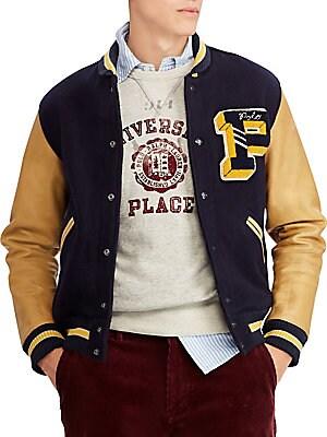 9f7e3da65a25 Polo Ralph Lauren - Varsity Jacket - saks.com